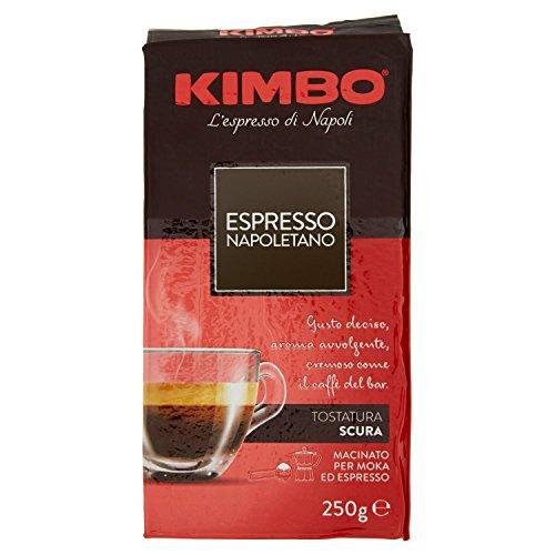 Kimbo Espresso Napoletano Caffè Macinato, 20 pezzi da 250 g (5 kg)