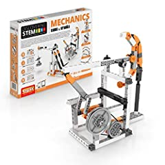 Engino brings complex concepts into clear focus for budding engineers and Scientists with award winning components and step by step illustrated assembly instructions Learn about transmitting power using Cams and cranks and converting reciprocal linea...