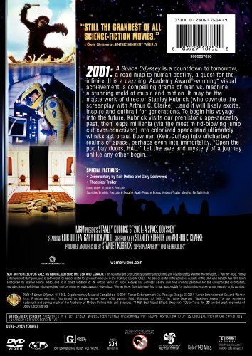 2001: A Space Odyssey (DVD) (Rpkg)