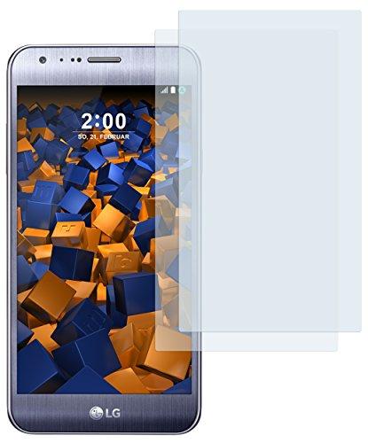 mumbi Schutzfolie kompatibel mit LG X Cam Folie klar, Bildschirmschutzfolie (2X)