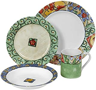Best watercolor 16 piece dinnerware set Reviews
