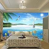 NIdezuiai Tapeten Wandbilder,Seascape Quallen Möwe Foto