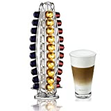 Home Treats Nespresso Coffee Capsule Stand. Rotating 40 Pod Holder
