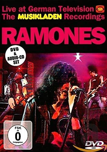 RAMONES - Musikladen Live (+ CD) [Reino Unido] [DVD]