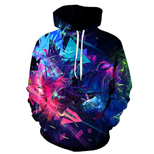 Unisexe Hoodies 3D Galaxy Animal Print Hoodies Fleece Sweatshirts Hoodie avec Poches