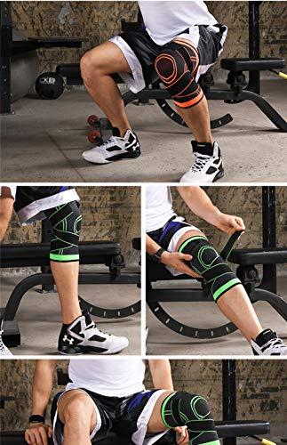 YHK膝サポーター医療用痛み6枚ひざ怪我防止加圧薄手痛み止め固定保護関節保護固定サポーターランニングバレーボールスポーツ高齢者左右兼用