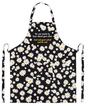 Funny Kitchen Apron - With Pockets - Perfect Cooking and Baking Apron for Women