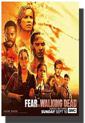 Fear The Walking Dead saison TV Art affiche impression toile photos salon oeuvre chambre photos décor à la maison cadeau Unique -50x75 cm pas de cadre