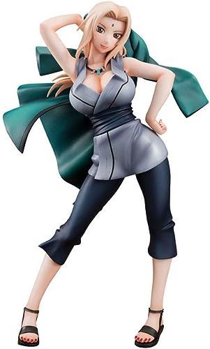 LLKOZZ Statue de Naruto Anime modèle Anime Tsunate, décoration de Bureau à Domicile jouet-22CM Jouet
