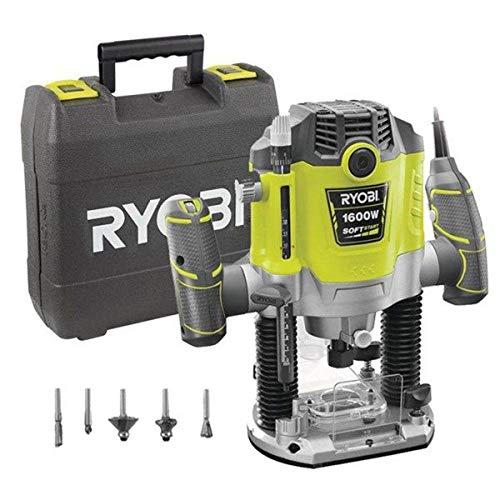 Fresadora Ryobi Rrt1600-K | Fresadora De 1600 W - 10.000 A 26.000 Rpm.