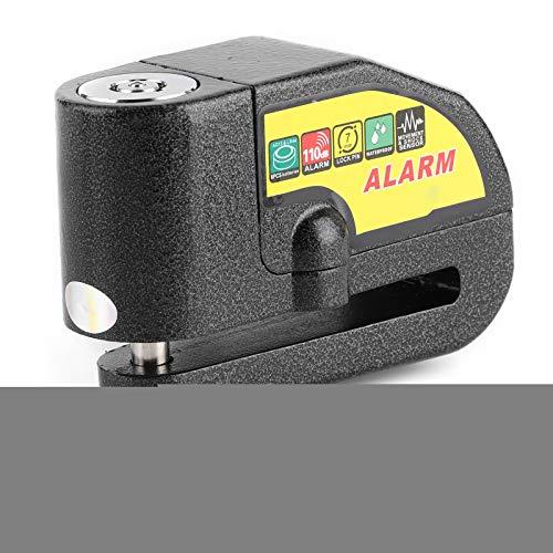 Bloqueo de freno de disco de rueda, alarma de seguridad antirrobo Accesorio de scooter de bloqueo de alarma de freno de rueda de motocicleta universal
