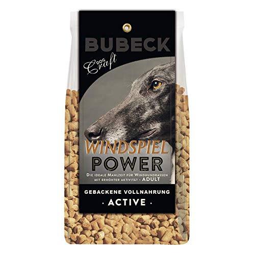 seit 1893 Bubeck Hundefutter | Windspiel Power | Trockenfutter mit Lammfleisch & Weizenmehl | Single Protein | für Windhunde (1 Kg)
