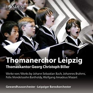 Bach, Brahms, Mendelssohn & Mozart: Choral Works