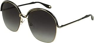 Sunglasses Givenchy 7030/S 0DYD Gold Black / 9O dark gray gradient lens