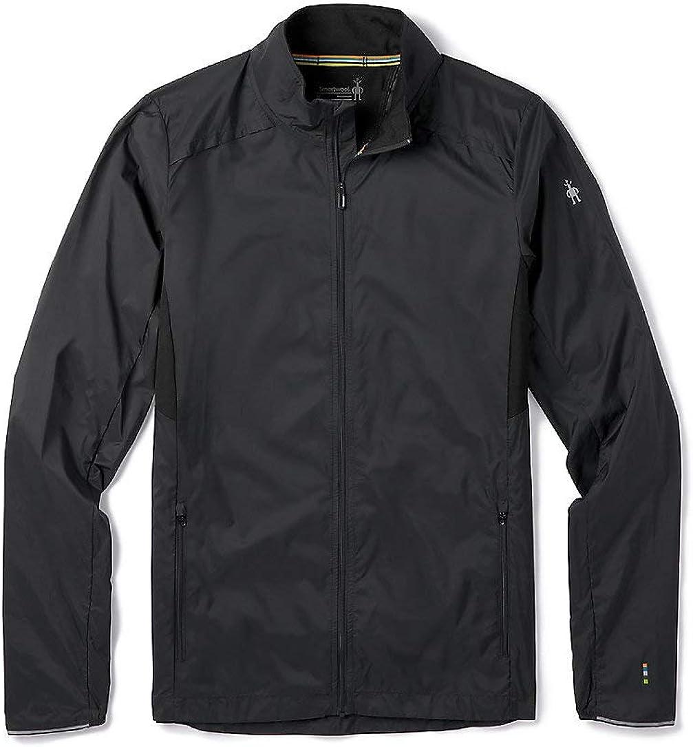 Smartwool Men's Sport Ultra Light Jacket Regular Fit Nylon Masala, Extra Large