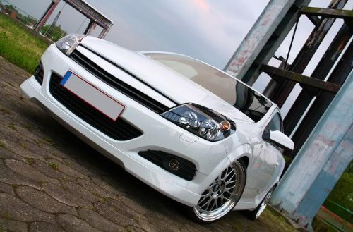Opel Astra H GTC Frontlippe Frontspoiler Tuning TOP