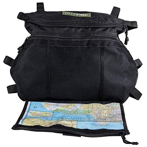 Outlaw Utility Utv Overhead Storage Map Bag With Extension Straps Polaris Ranger Rzr 4 800 Ranger Rzr Xp 4 900- Utv Accessories – Ensures Fitment On Wider Utv'S
