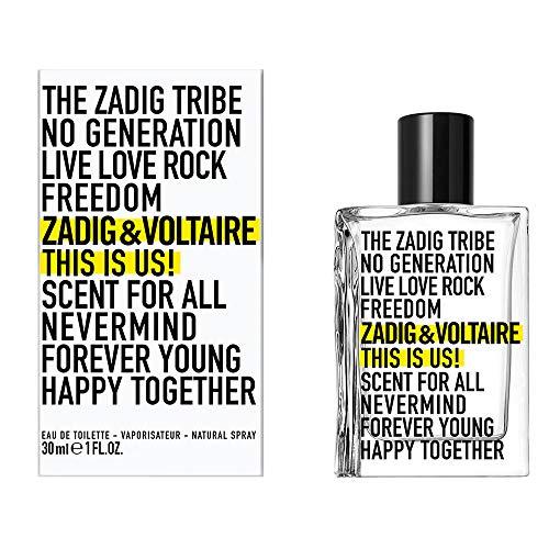 Zadig & Voltaire This Is Us!, Eau de Toilette Spray, 30 Millilitri