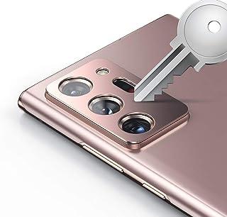 XINKOE Camera Lens Protector for Samsung Galaxy Note20 Ultra, [2 Pack] Camera Lens Protector Ring Cover, High-Grade Metal ...