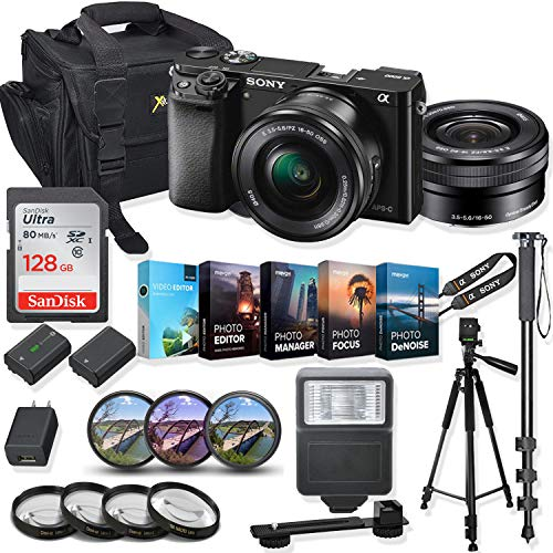 Sony Alpha a6000 Mirrorless Digital Camera 16-50mm...