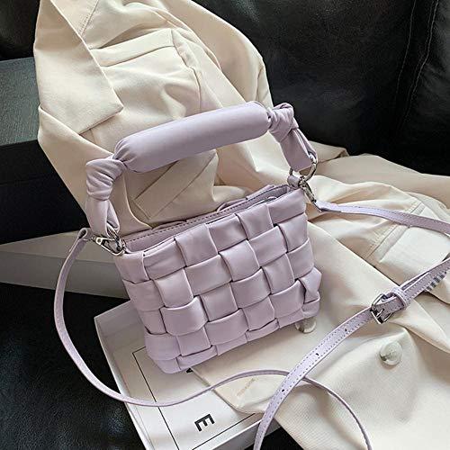 PANZZ Crossbody Bags Women Shoulder Sacs à Main Femme Travel Summer Totes, Light Purple, Mini