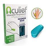 Aculief Wearable Acupressure offre un soulagement naturel de la tension à l'aide du point d'acupression LI4 - Paquet unique