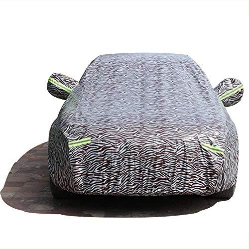 Car Cover compatibel met de regenbescherming Ford modellen Limousine regenjas en poeder Sun UV all Weather gemakkelijk te vervoeren en op te bergen met een tas Fiesta