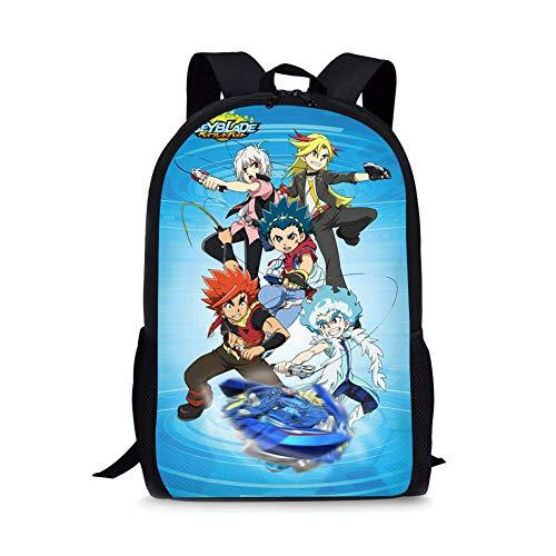 Bey-blade Kinomiya Takao Kids Backpack Book Bag, Backpack 1, Size One_Size