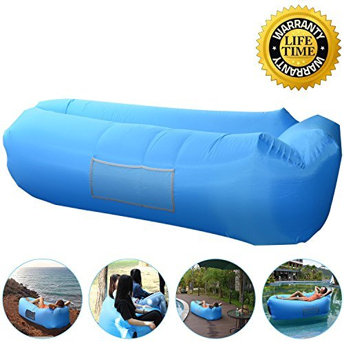 AngLink Outdoor Inflatable Lounger Couch, Thick...