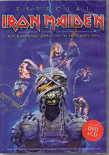 IRON MAIDEN ESPECIAL (DVD + CD)