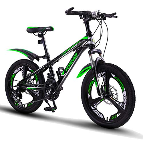 FUFU 20 Pollici Ragazzi e Ragazze Bikes, a velocità variabile Mountain Kids Bike, Bicicletta Sport all'Aria Aperta for 9-14 Anni Bambini (Color : B)