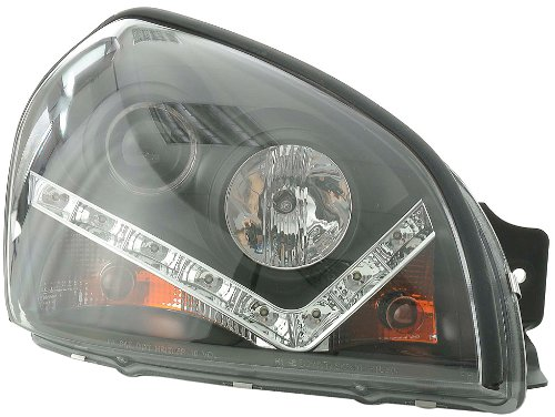 FK Automotive FKFSHY011003 Frontscheinwerfer, Schwarz