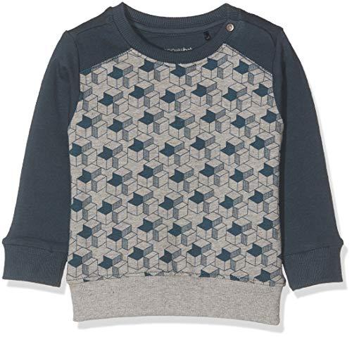 Noppies Baby-Jungen B Sweat ls Albion Sweatshirt, Grau (Light Grey Melange P227), (Herstellergröße: 68)