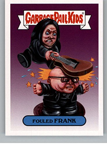 2017 Topps Garbage Pail Kids Series 2 Alternative #2B FOULED FRANK