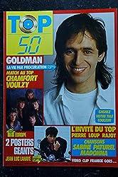 TOP 50 039 1986 12 * GOLDMAN CHAMFORT VOULZY MADONNA Sabine PATUREL Poster LAHAYE