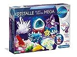 Clementoni 59130 Galileo Science – Kristalle selbst züchten Mega, Experimentierkasten für Kinder ab 8 Jahren, farbenfrohe Experimente fürs Kinderzimmer als Weihnachtsgeschenk