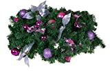 Clever Creations - Guirnalda moldeable para árbol de Navidad - Ornamentos a Prueba de...