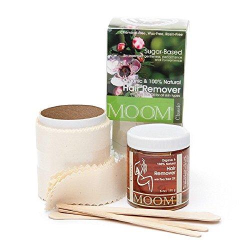 Moom Organic Hair Removal Kit Tea Tree Classic