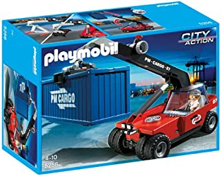 PLAYMOBIL® Cargo Transporter with Container