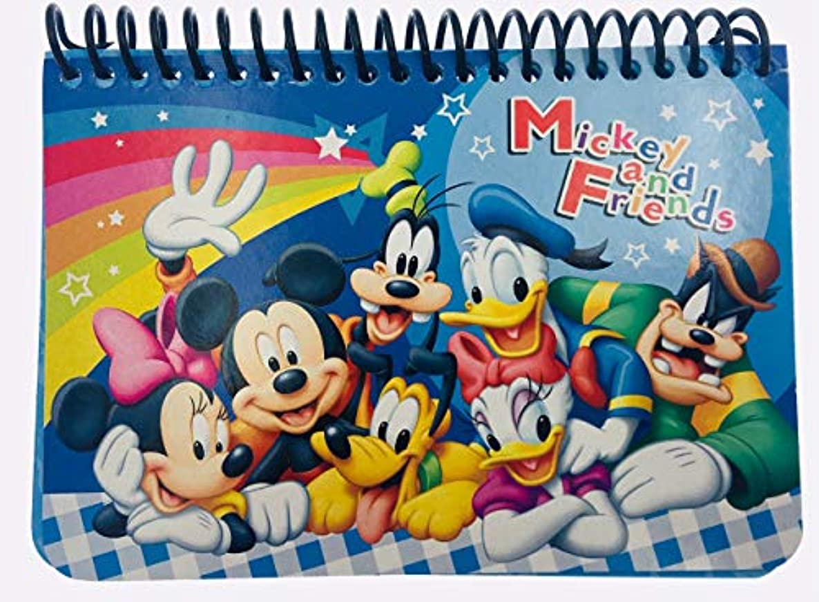 Disney Mickey Autograph Book - Blue Mickey and Friends