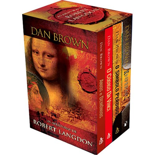 Box - As Aventuras De Robert Langdon