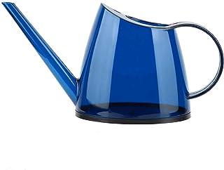 Fransande Spuitfles voor de tuin, niet bedekt, met gekleurde gieter, 1,5 l, blauw