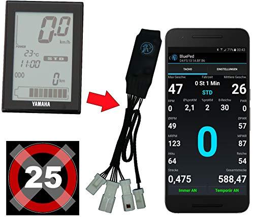 BluePed Tuning Chip für Haibike Yamaha PW mit App