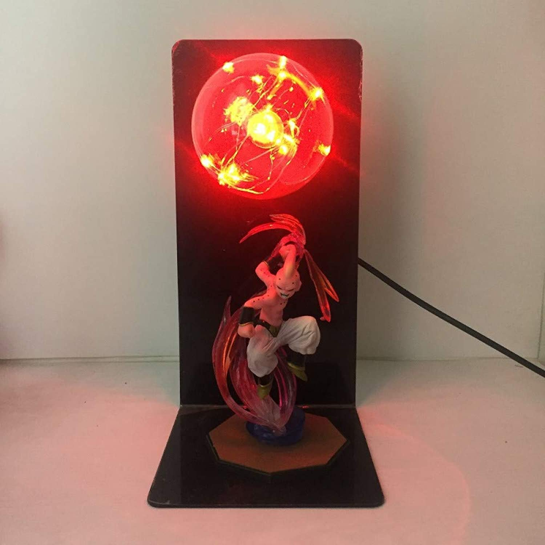 CXQ anime Dragon Ball Sun Wukong hand kreative tischlampe led schreibtischlampe auge lampe leuchtende spielzeug kreatives licht