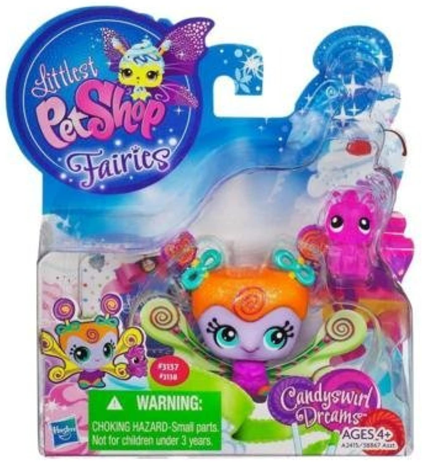 la red entera más baja Littlest Petshop Fairies Fairies Fairies candyswirl Dreams Honey Whirl Fairy by Littlest Petshop  Nuevos productos de artículos novedosos.