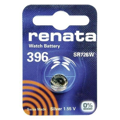 396 (SR726W) Münzen-Batterie / Silber-Oxid 1.55V / für Uhren, Taschenlampen, Autoschlüssel , Taschenrechner , Kameras, etc / iCHOOSE