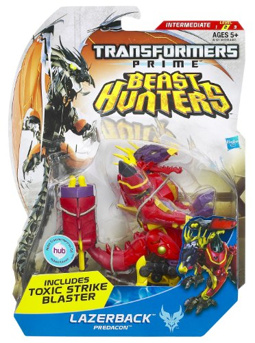 Transformers - A6358E240 - Figurine - Cinéma - Prime Deluxe - Laserback Dragon - Exclusive Web