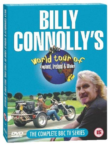 Billy Connolly's World Tour Of England, Ireland And Wales [DVD]