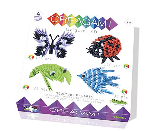CreativaMente- Creagami Kit Gioco di Creativita Origami Modulari, Multicolore, 731
