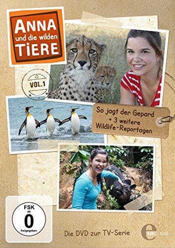 Anna und die wilden Tiere - Folge 1: So jagt der Gepard - Die DVD zur TV-Serie